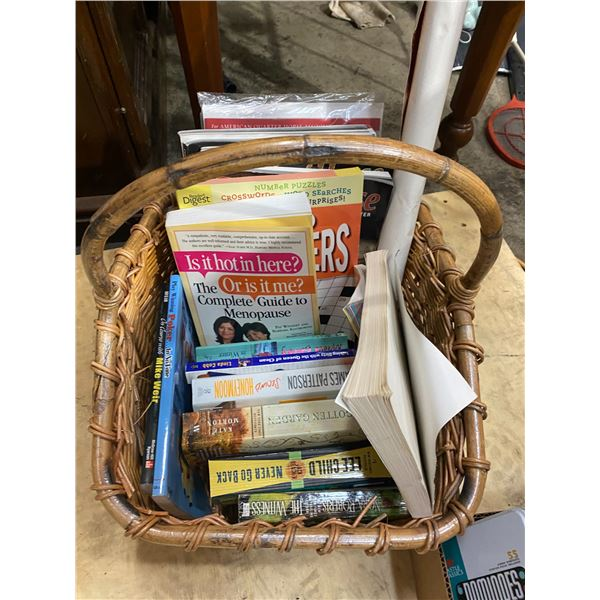 Basket books and hires books