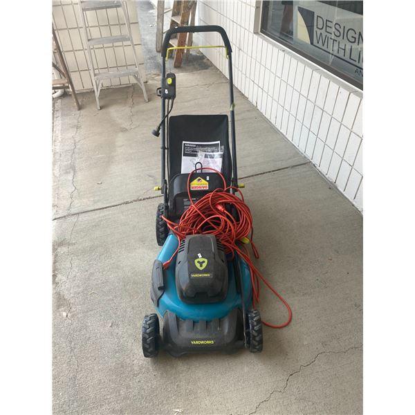 """Yard works 19"""" mower"""