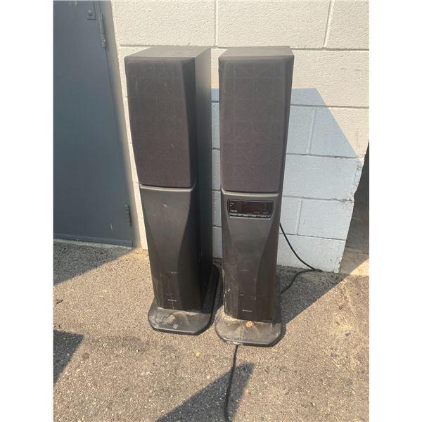 Sony speakers with radio
