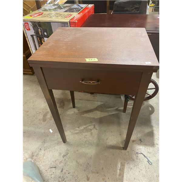 Brother sewing machine in table
