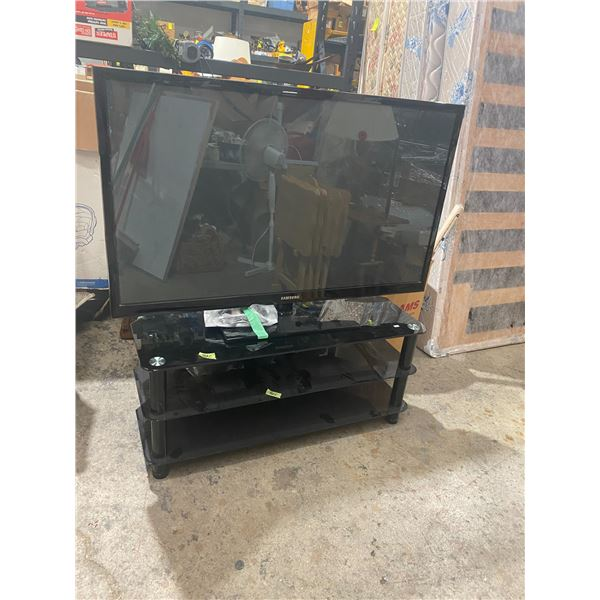 51 inch Samsung tv and remote