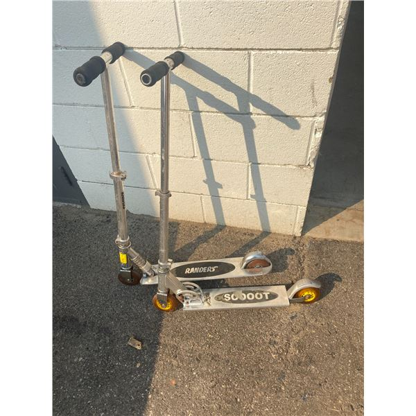 Two scooters