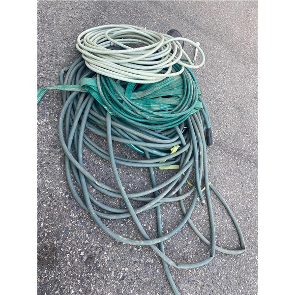 Lot of hose
