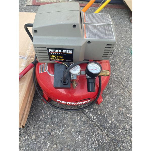 Porter cable jet stream 150 PSI compressor