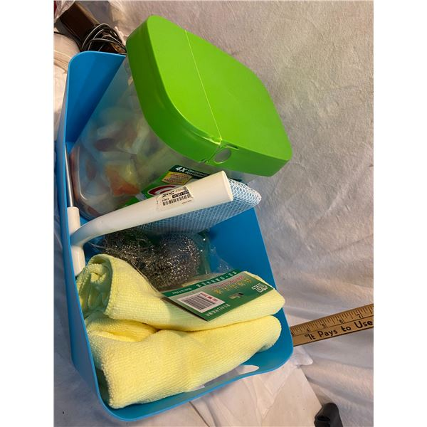 Lot cleaning supplies