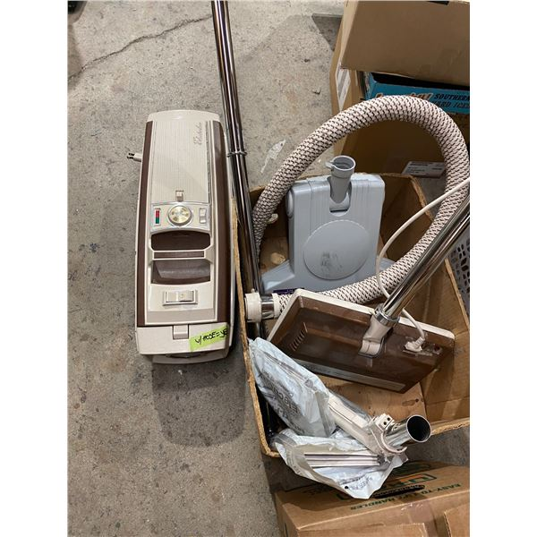 Electrolux vacuum and attachments