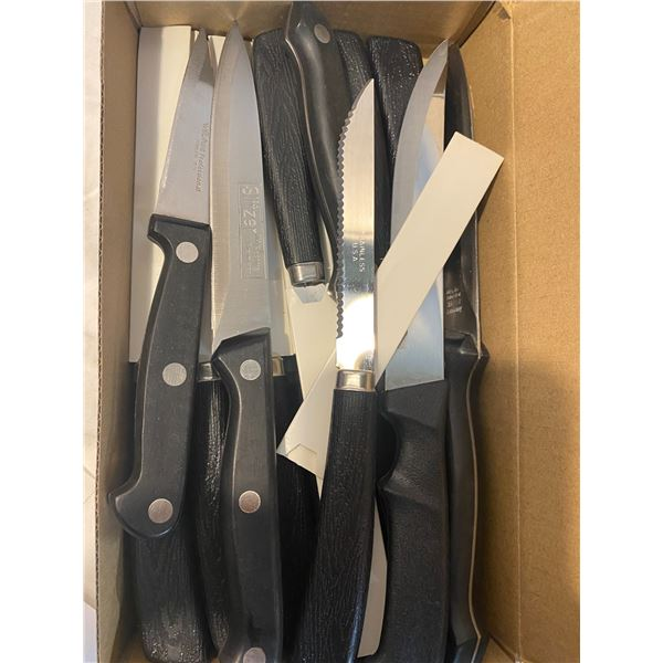 Steak knives and other knives