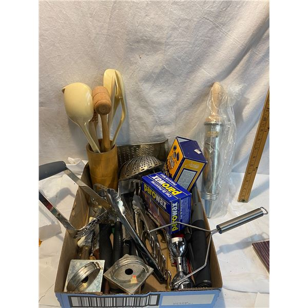Kitchen utensils and other misc.