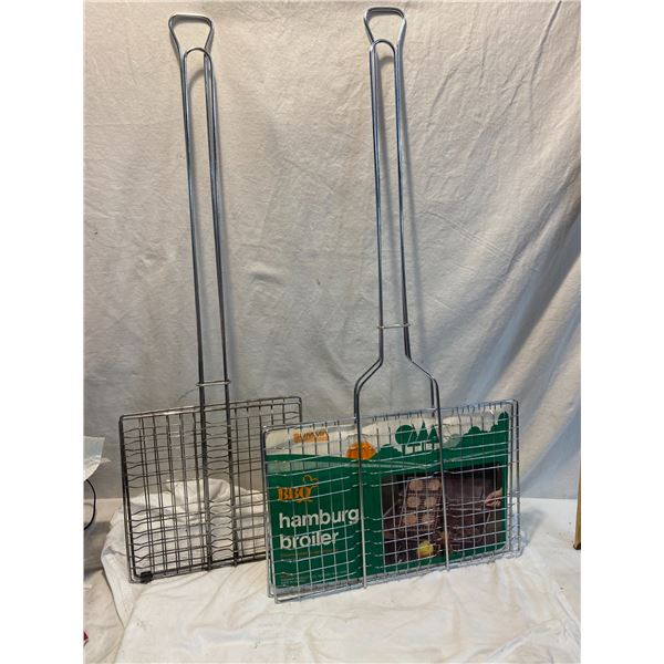 Two camping cook items