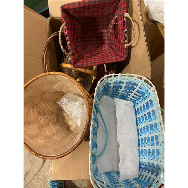 Box of baskets