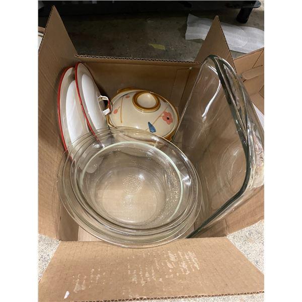 Bakeware and tin enamel lids