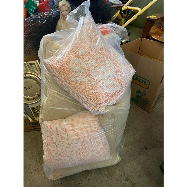 Lot of cushions