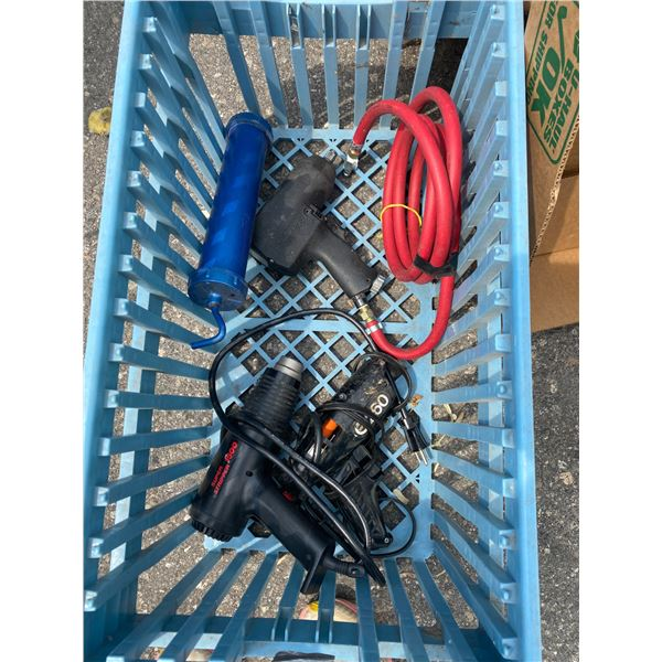 Bin tools and hose