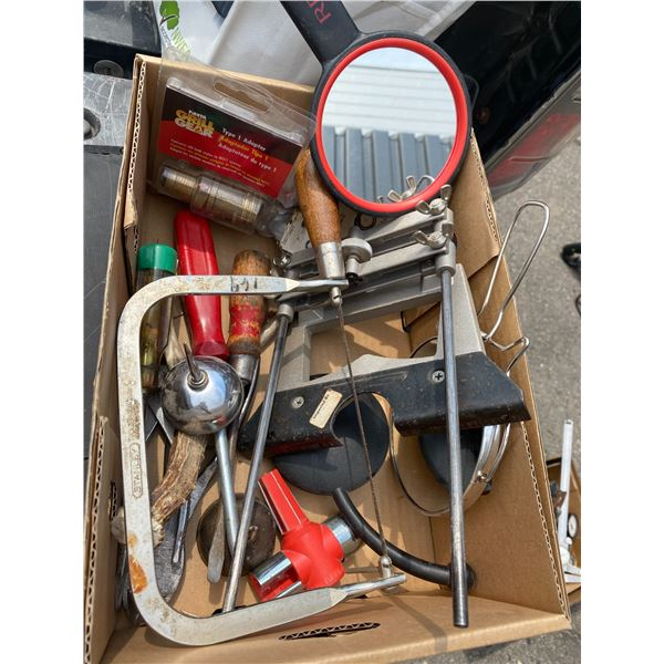 Lot of garage related tools etc