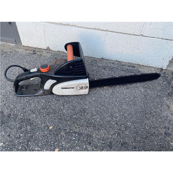 "Remington 16"" electric chainsaw"