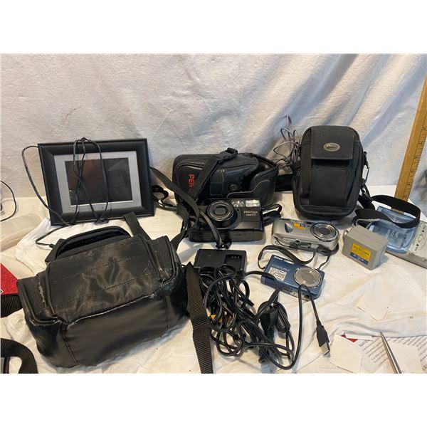 Cameras and digital frame