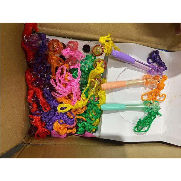 Case pens on strings
