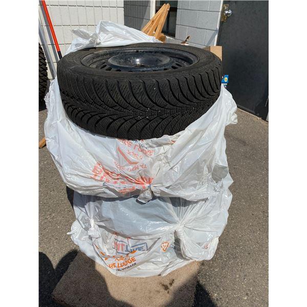 Tires on rims  m&s 205/55r16