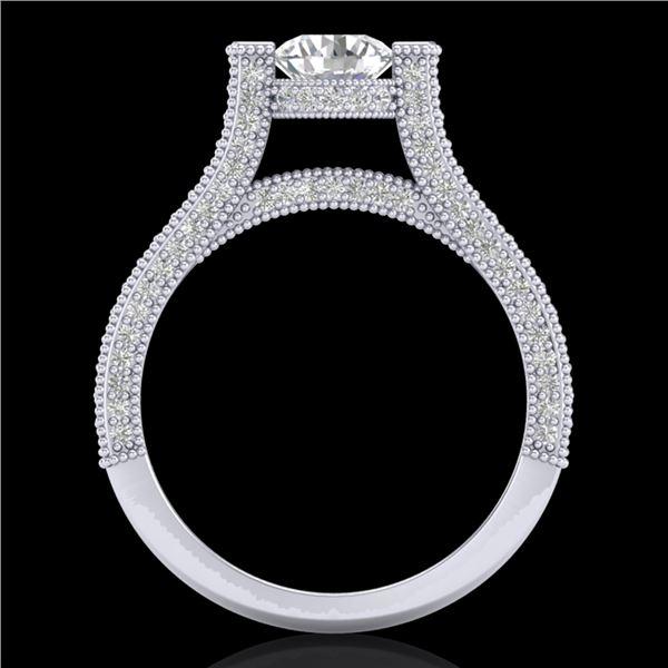 2 ctw VS/SI Diamond Micro Pave Ring 18k White Gold - REF-290A9N