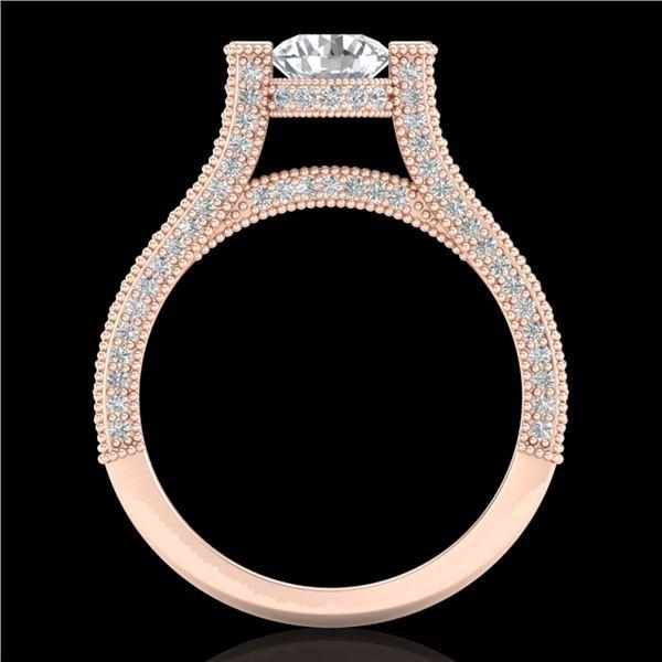 2 ctw VS/SI Diamond Micro Pave Ring 18k Rose Gold - REF-290F9M