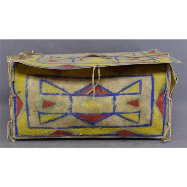 SIOUX INDIAN PARFLECHE BOX