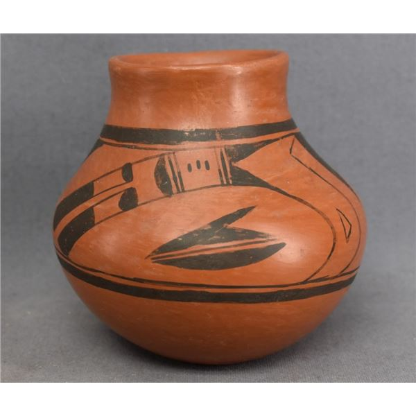 HOPI INDIAN POTTERY JAR (RACHEAL NAMPEYO)