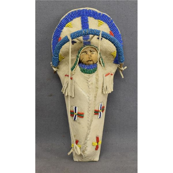 SIOUX INDIAN TOY CRADLE
