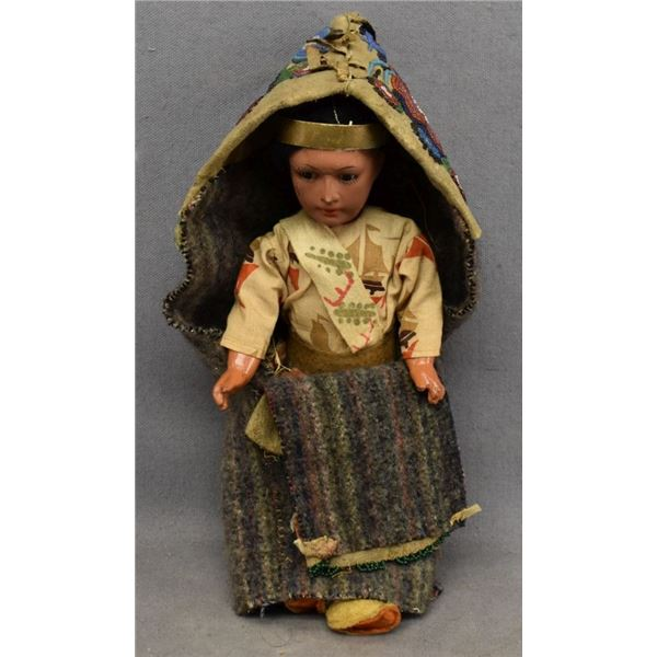 PLAINS INDIAN TOY CRADLE COVER