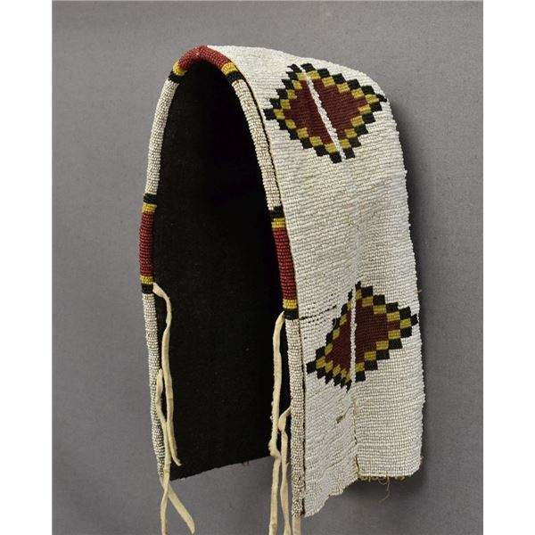 PLAINS INDIAN BEADED CRADLE COVER