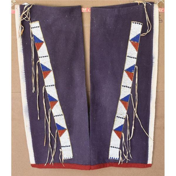 SIOUX INDIAN LEGGINGS