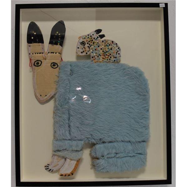 NAVAJO INDIAN FOLK-ART (MAMIE DESCHILLIE)
