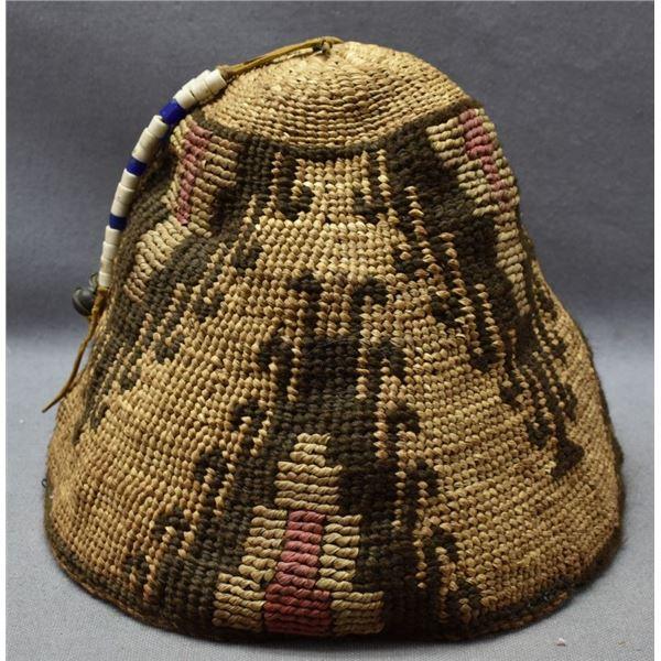 YAKIMA/NEZ PERCE INDIAN CORNHUSK HAT