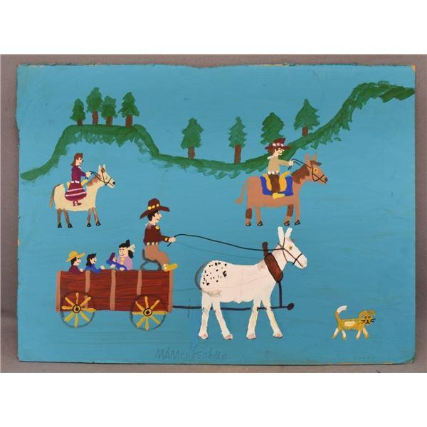 NAVAJO INDIAN FOLK ART (MAMIE DESCHILLIE)