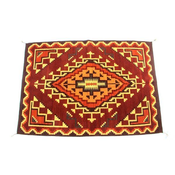 Klagetoh Ganchos Viejos Wool Rug by Fidel Lorenzo