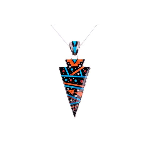 Navajo Double Sided Celestial Multi-Stone Necklace