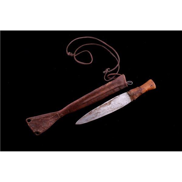 Kunene Region Namibia, Africa Hima Knife c. 1900's
