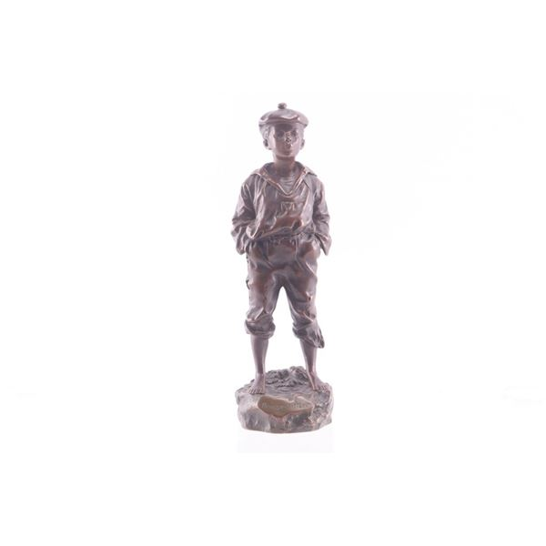 Mousse Siffleur Bronze Sculpture by V Szczeblewski