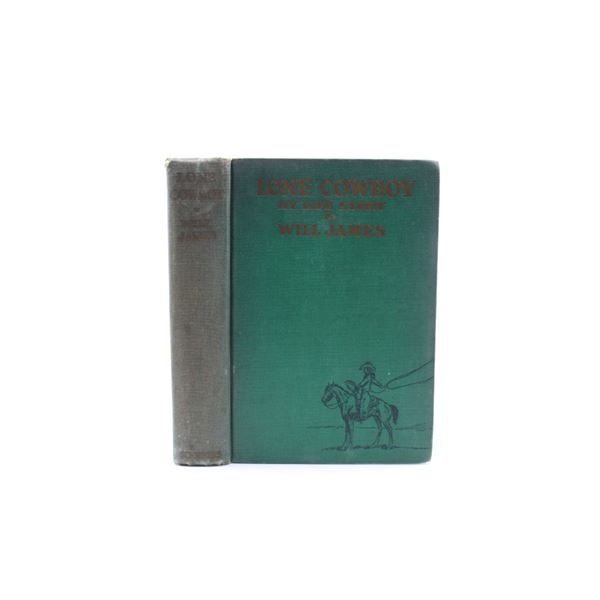 1930 1st Ed. Lone Cowboy by Will James