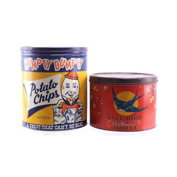 Humpty Dumpty & Blue Bird Tin Collection