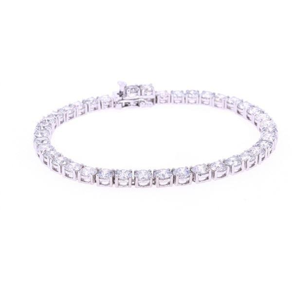 Luxury 13.11ct Natural Diamond 18k Gold Bracelet