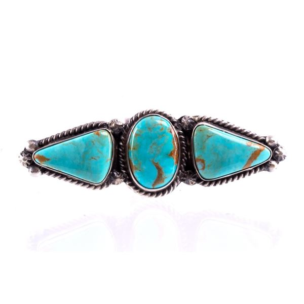 Navajo A. Largo Sterling Silver & Turquoise Ring
