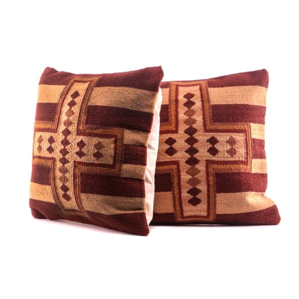 Hubbell Cross Wool Set of Pillows Emilio Reyna