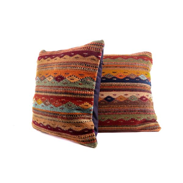 Montanitas Bejeweled Wool Pillow Set Emilio Reyna