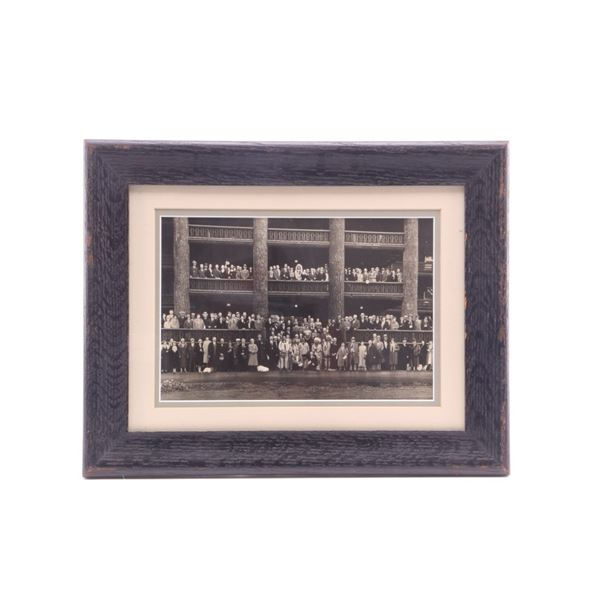 Glacier Park Lodge Opening Blackfeet & Guests 1913