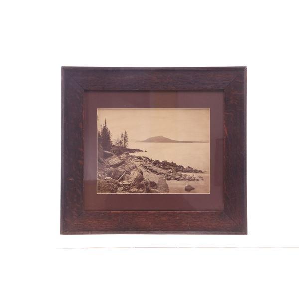 Yellowstone Lake Hayden Survey - W.H. Jackson 1871