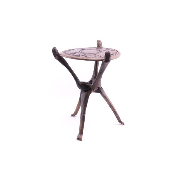 Primitive South African Folding Side Table