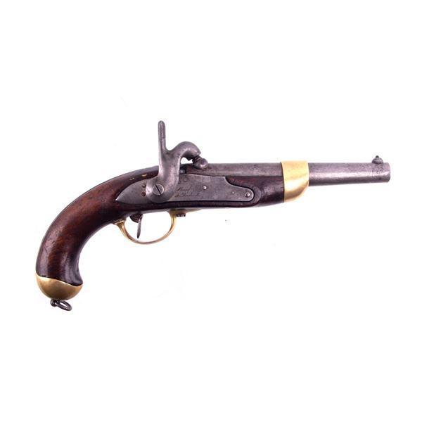 French Charleville Model 1822 Conversion Pistol