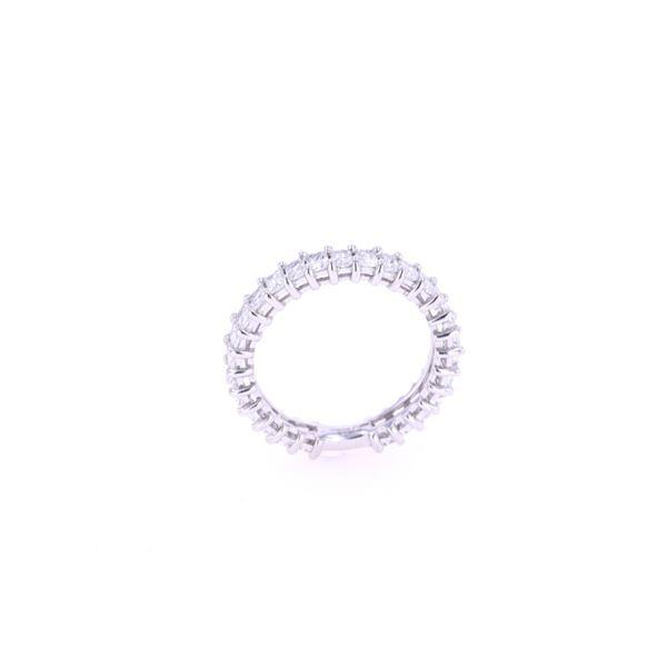 Luxury Radiant Diamond & Platinum Unity Ring