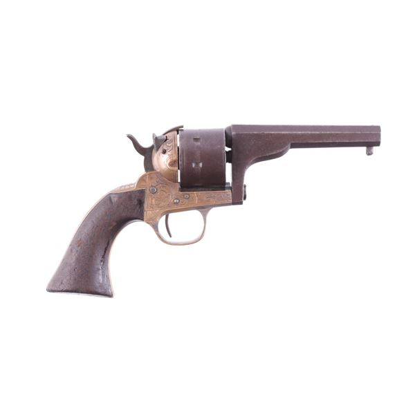 Civil War Moore's Patent Engraved Belt Revolver