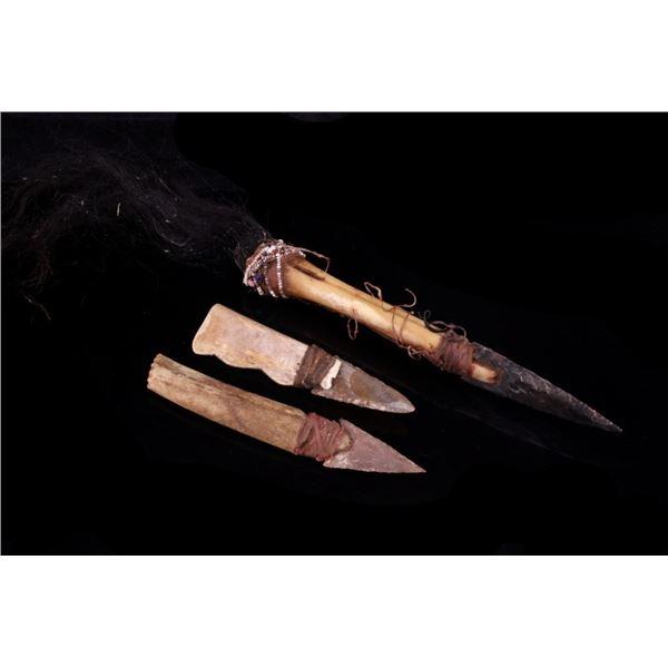 Northern Plains Bone Dag Knife Collection